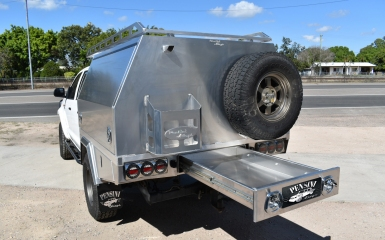Full-time-dual-cab-canopy-with-undertray-drawer-and-jerry-can-holder